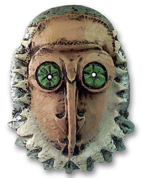 Máscara decorativa - Homem-Coruja