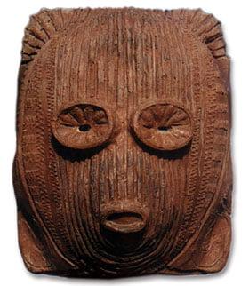 Máscara decorativa - Ídolo