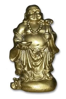 Buda da Riqueza e Prosperidade - em resina