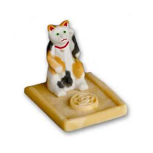 Incensário - Manekineko - Gato da Fortuna