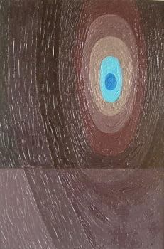Pintura em resina - Espírito viajando - Alberto Farah - Quadro decorativo