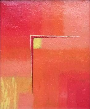 Pintura em resina - Ponto de Equilíbrio - Alberto Farah - Quadro decorativo