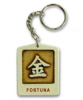 Chaveiro Ideograma da Fortuna
