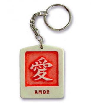Chaveiro Ideograma do Amor