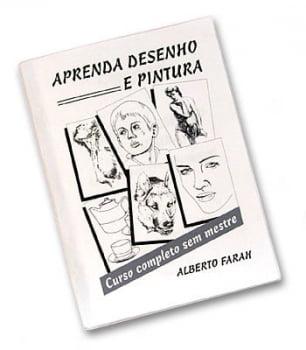 Livro - Curso de Desenho e Pintura - Alberto Farah
